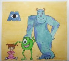 Monsters Inc. by TaliShemes