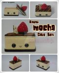 Kawaii Mocha Cake Box by SongAhIn