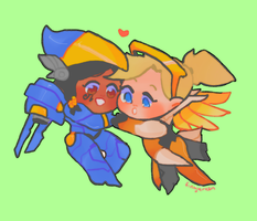 pharmercy secret santa by Fingurken