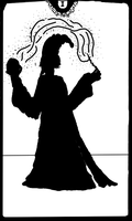 Silhouette of a magician by SunLaim