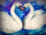 Swans by NynjaKat