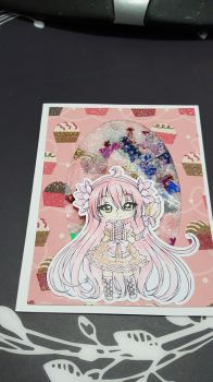 Shaker Card Using Line Art by Sureya #6 by UniqueDesignByMonica