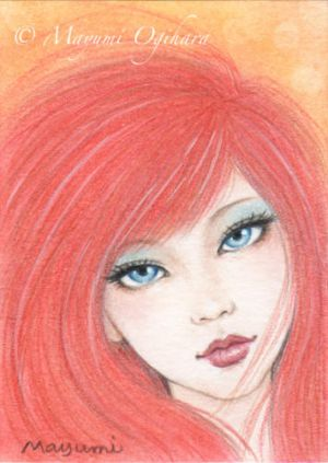 Ice and Fire - ACEO by MayumiOgihara