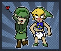 Poor Link by toddlergirl