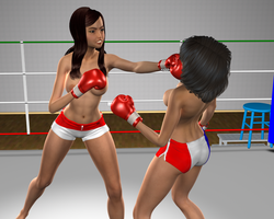 Alice (France) v Natalie (Indonesia) 3 by LeniTachibana
