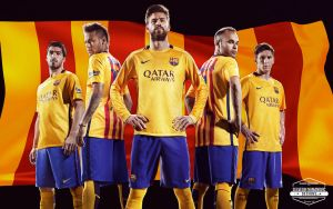 FC Barcelona 2015/16 HD WALLPAPER by SelvedinFCB