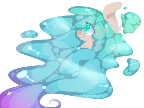 A drawing that took around 15 minutes by TheRareKitty