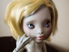 Monster high doll Lagoona Blue custom repaint by hellohappycrafts