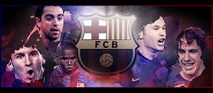 Sign FC Barcelona by ROH2X