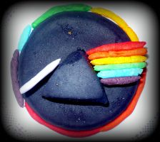 Pink Floyd mini cake by sweetdisposition14