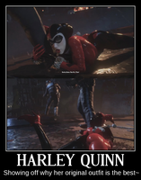 Harley Quinn Motivational Poster 3 by slyboyseth