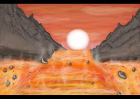 Green Ranger Series Concept Lava Fields Demo by GoldRangerKicksass