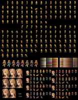 Celes full  sprite sheet by Lijj