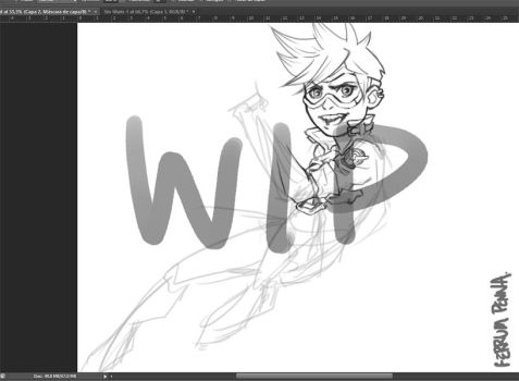 tracer WIP by FerrumPenna