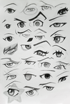 Anime Eyes: Ace Attorney Edition by Kitty-xx
