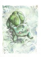 Bulbasaur by DestroyedSteak