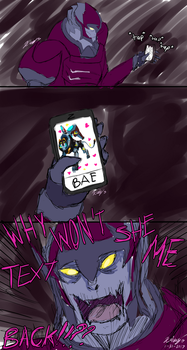 Why Doesn't She Text Back - VLD by Kama-Ta