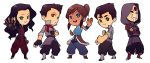 Legend of Tiny Korra by paper-hero
