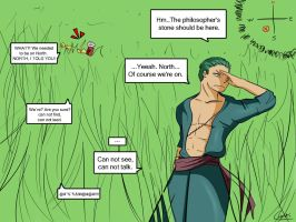 Alternative World: Zoro and Edward by Ciotti