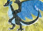 Mega Charizard X- Version 2 by FlygonPirate