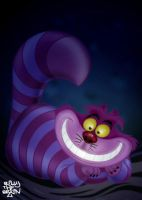 Cheshire Cat by billythebrain
