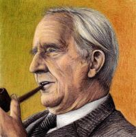Professor Tolkien by Jon-Snow