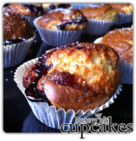cupcakes - blueberry jelly'2 by angelicetherreality