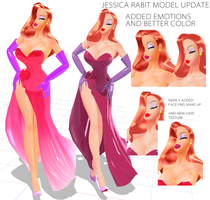 Jessica Rabbit Update by chatterHEAD
