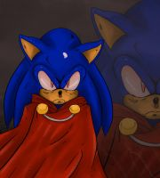 Evil Sonic by ss2sonic