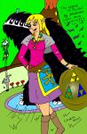 The Legend of Zelda - Zelda Skyward Sword II by LilianettyPR
