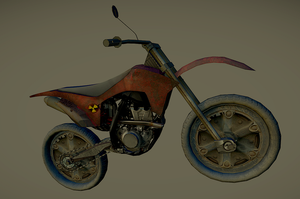 Post Apocalyptic Dirt Bike by SniperWolf87