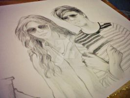 Louis Tomlinson and Eleanor Calder Unfinished by geLooOoo