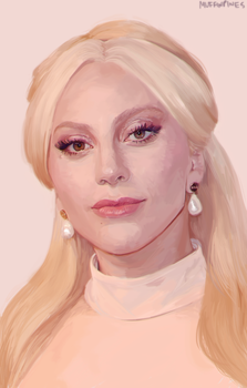painted a gaga... by Super-Cute