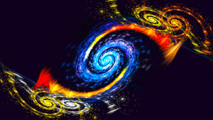 Active Galaxy Formation by Fractamonium