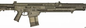 Weapons: BCG-62 Hammerer by purpledragon104