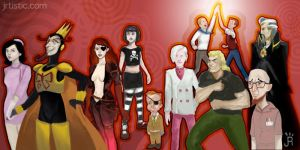 the venture bros cast by psmonkey
