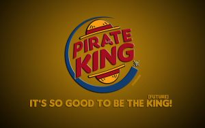 not burger, PIRATE king! by fogdark