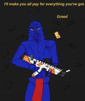 7 Deadly Sins-Greed by IllyDragonfly