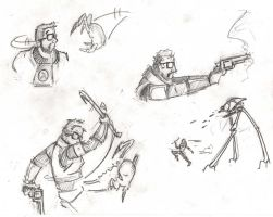 Half Life doodles by ShellShock92