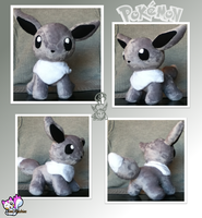 Minky Shiny Eevee Plushie :Sold: by Ami-Plushies
