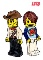 Johnny Thunder and Max by SonicClone