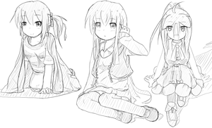 OC Sketches by Masatog