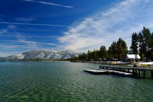 Beacon Point Lake Tahoe CA by kayaksailor
