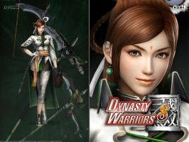 DW8 Wallpaper - Yue Ying by Koei-Warrior
