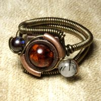 Steampunk Orrery ring 3 by CatherinetteRings