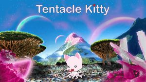 Tentacle Kitty Background by TentacleKitty