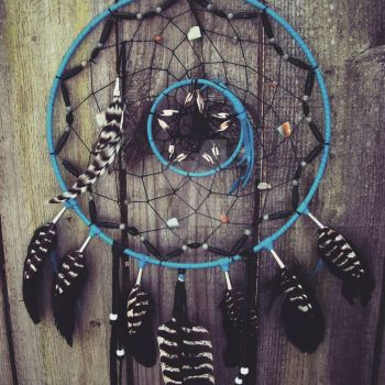 Axis Mundi  Dreamcatcher  by xsaraphanelia