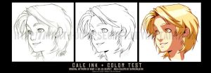 TEST-- Cale Inks+Colors by DarkChildx2k