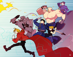 fullmetal alchemist by genicecream
