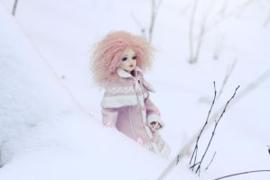 Cold pink baby by SelenaAdorian